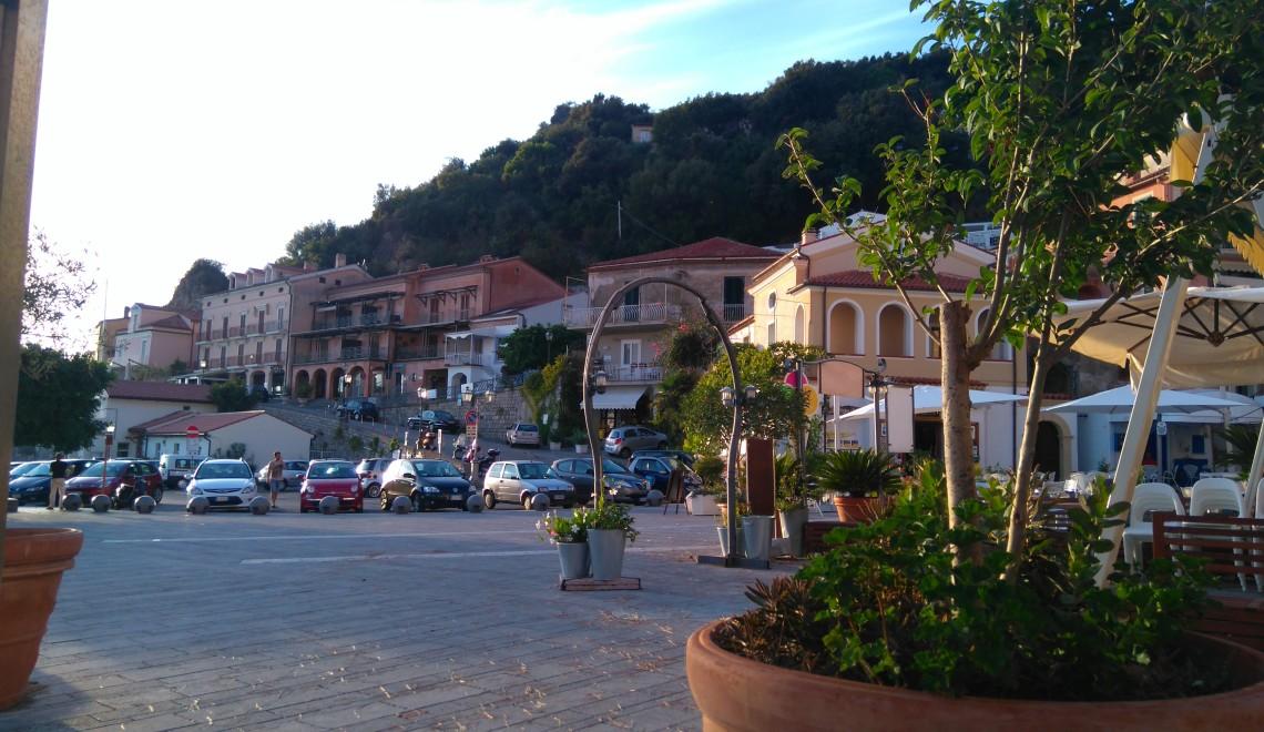 Pobřežní městečko Maratea